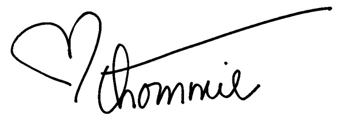 Thommie's signature